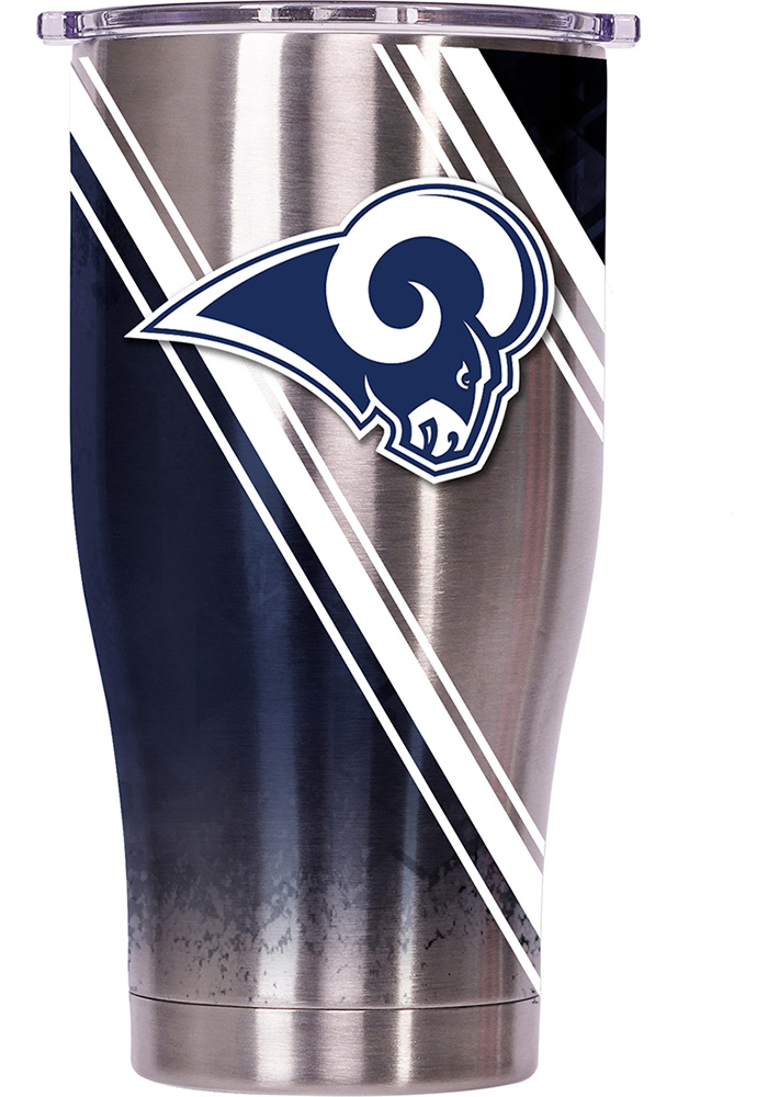 Los Angeles Rams ORCA Chaser 27oz Full Wrap Stainless Steel Tumbler - Silver - Image 1
