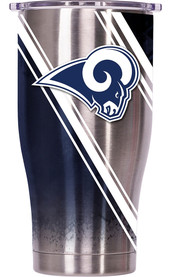 Los Angeles Rams ORCA Chaser 27oz Full Wrap Stainless Steel Tumbler - Silver