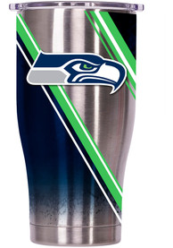 Seattle Seahawks ORCA Chaser 27oz Full Wrap Stainless Steel Tumbler - Silver