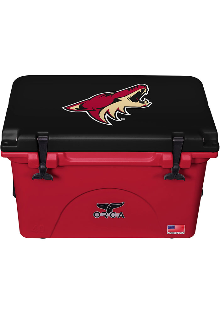 Arizona Coyotes ORCA 40 Quart Cooler - Image 1
