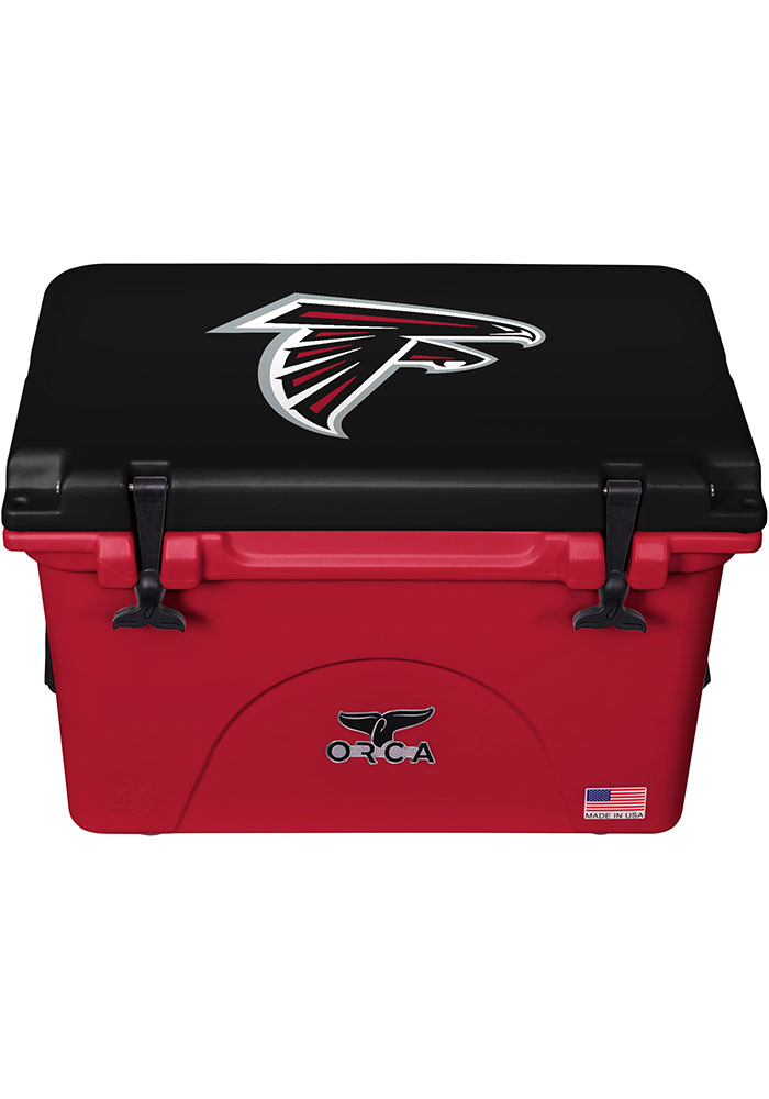 Atlanta Falcons ORCA 40 Quart Cooler - Image 1