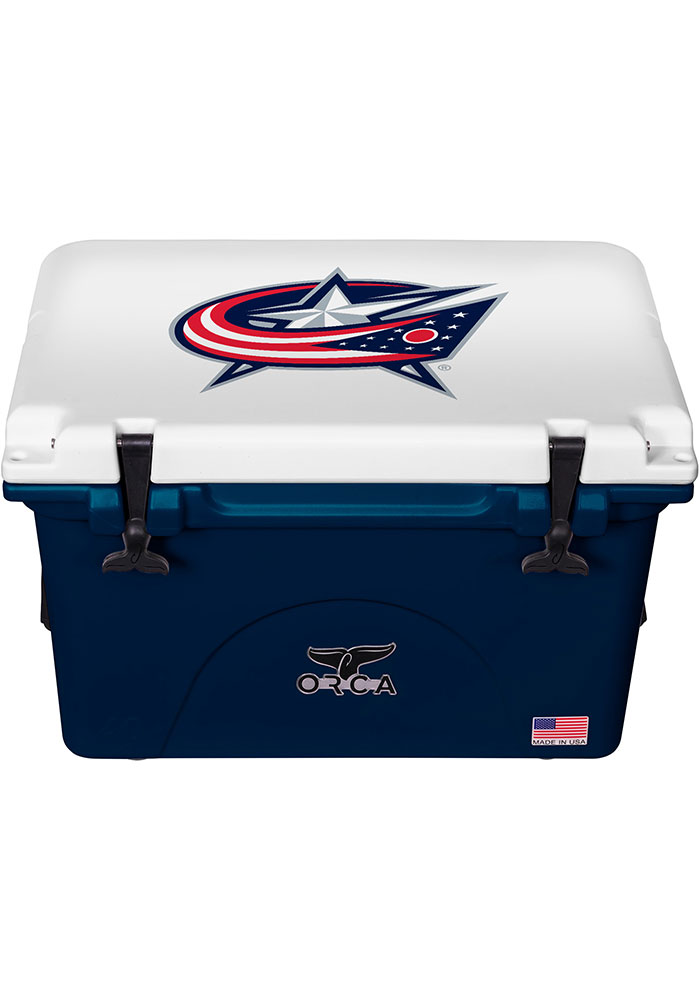Columbus Blue Jackets ORCA 40 Quart Cooler - Image 1