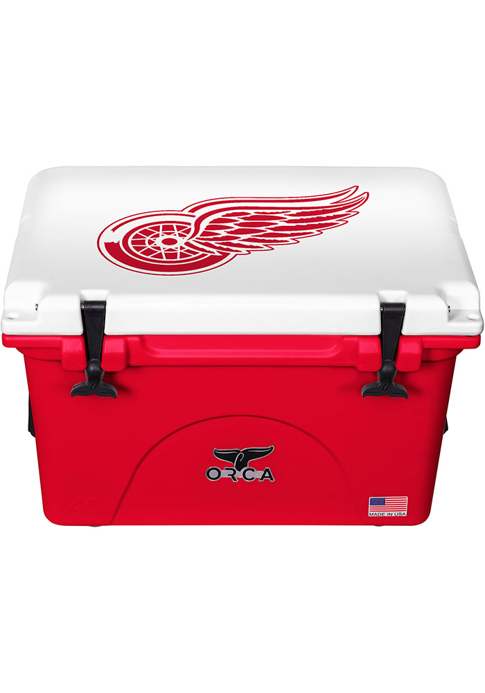 Detroit Red Wings ORCA 40 Quart Cooler - Image 1