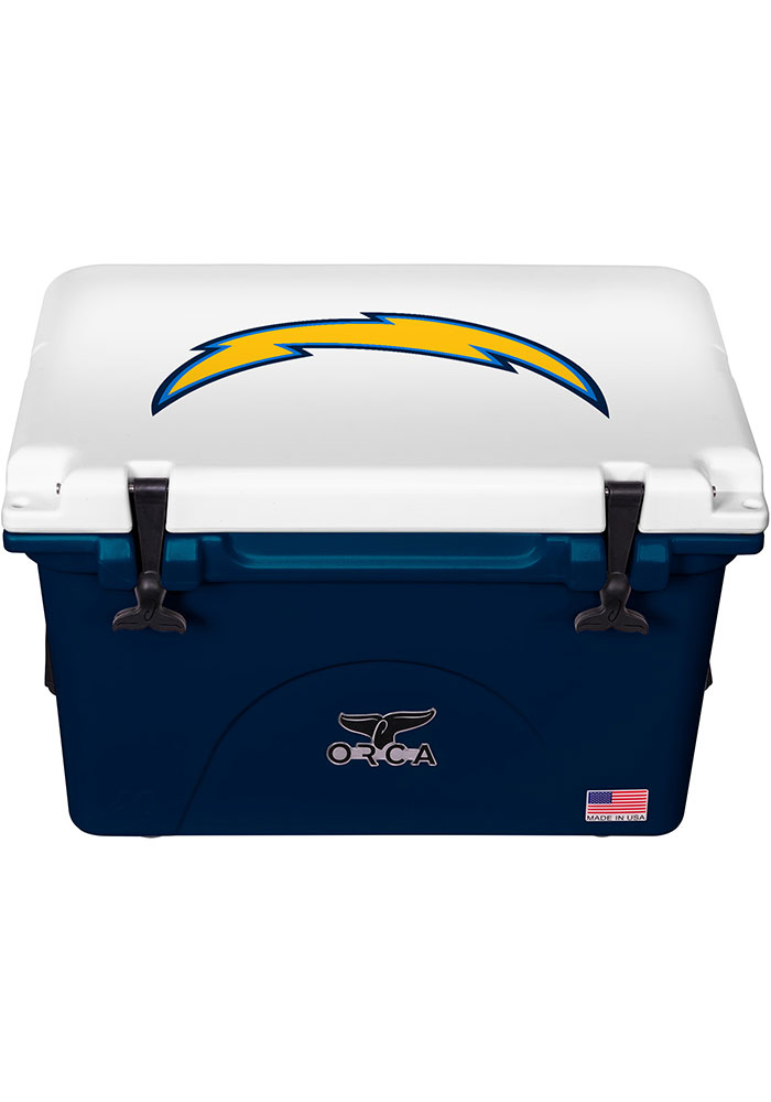 Los Angeles Chargers ORCA 40 Quart Cooler - Image 1