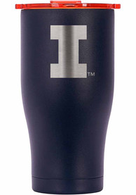 Illinois Fighting Illini ORCA Chaser 27oz Etch Stainless Steel Tumbler - Navy Blue