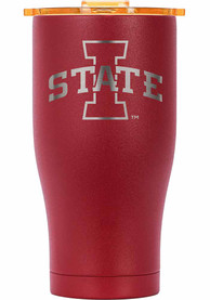 Iowa State Cyclones ORCA Chaser 27oz Etch Stainless Steel Tumbler - Crimson