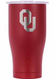 Oklahoma Sooners ORCA Chaser 27oz Etch Stainless Steel Tumbler - Crimson