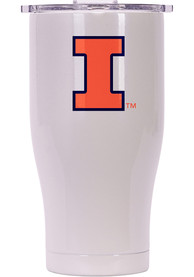 Illinois Fighting Illini ORCA Chaser 27oz Full Color Stainless Steel Tumbler - White