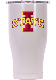 Iowa State Cyclones ORCA Chaser 27oz Full Color Stainless Steel Tumbler - White