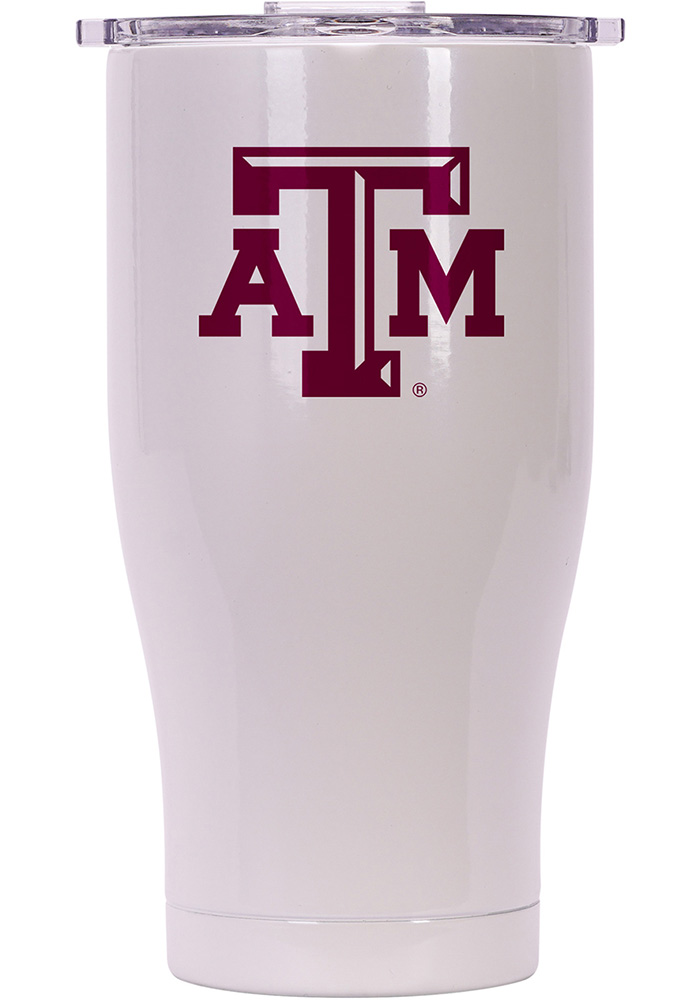 Texas A&M Aggies ORCA Chaser 27oz Full Color Stainless Steel Tumbler - White - Image 1