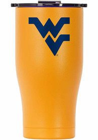 West Virginia Mountaineers ORCA Chaser 27oz Full Color Stainless Steel Tumbler - Gold