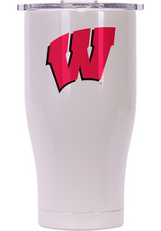 Wisconsin Badgers ORCA Chaser 27oz Full Color Stainless Steel Tumbler - White