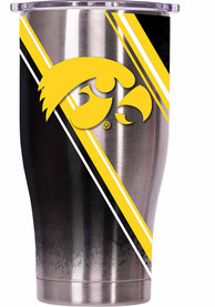 Iowa Hawkeyes ORCA Chaser 27oz Full Wrap Stainless Steel Tumbler - Silver