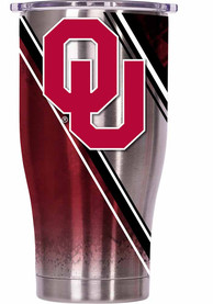 Oklahoma Sooners ORCA Chaser 27oz Full Wrap Stainless Steel Tumbler - Silver