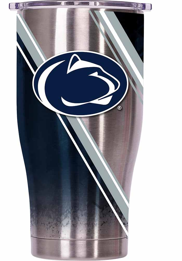 Penn State Nittany Lions ORCA Chaser 27oz Full Wrap Stainless Steel Tumbler - Silver - Image 1
