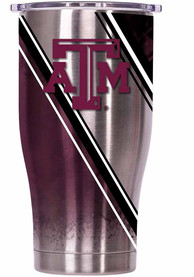 Texas A&M Aggies ORCA Chaser 27oz Full Wrap Stainless Steel Tumbler - Silver