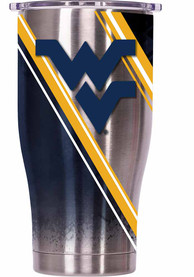 West Virginia Mountaineers ORCA Chaser 27oz Full Wrap Stainless Steel Tumbler - Silver