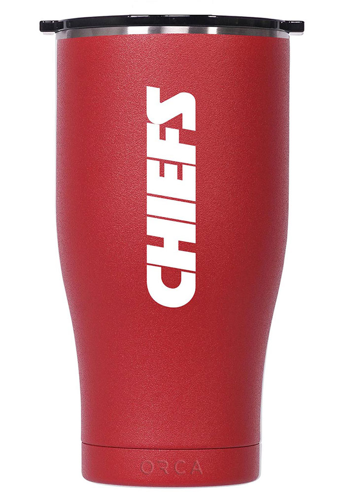 Kansas City Chiefs Super Bowl LIV Champions Chaser 27oz Stainless Steel Tumbler - Red - Image 2
