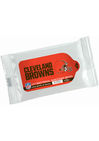 Cleveland Browns Antibacterial Wipes Hand Sanitizer