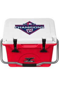 Washington Nationals ORCA 2019 World Series Champions 20 Qt Cooler