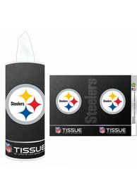 Pittsburgh Steelers Cylinder Tissue Box