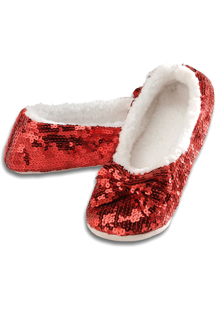 Wizard of Oz Kids Red Ruby Snoozies Footcoverings - Image 1