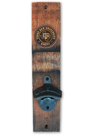 Texas A&M Aggies Barrel Stave Bottle Opener