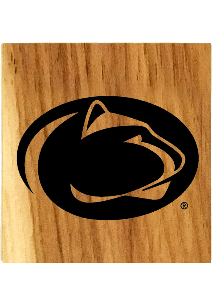 Penn State Nittany Lions Barrel Stave Coaster - Image 1