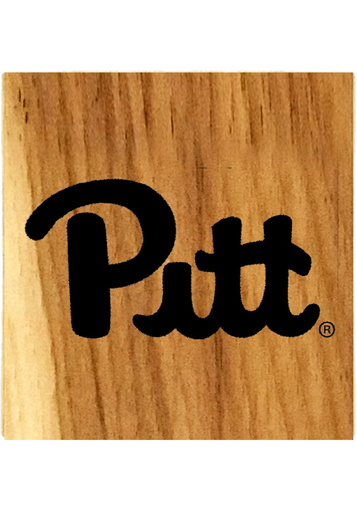 Pitt Panthers Barrel Stave Coaster - Image 1