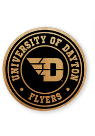 Dayton Flyers Alder Wood Coaster