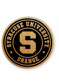 Syracuse Orange Alder Wood Coaster