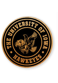 Iowa Hawkeyes Alder Wood Coaster