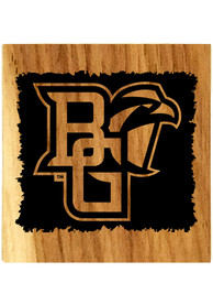Bowling Green Falcons Barrel Stave Bottle Opener Coaster