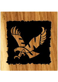 Eastern Washington Eagles Barrel Stave Bottle Opener Coaster