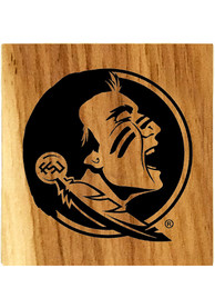 Florida State Seminoles Barrel Stave Bottle Opener Coaster