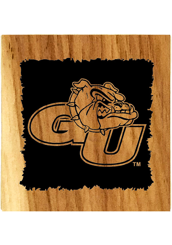 Gonzaga Bulldogs Barrel Stave Bottle Opener Coaster - Image 1