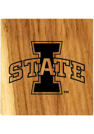Iowa State Cyclones Barrel Stave Bottle Opener Coaster
