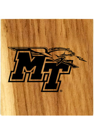 Middle Tennessee Blue Raiders Barrel Stave Bottle Opener Coaster