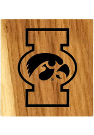 Iowa Hawkeyes Barrel Stave Bottle Opener Coaster