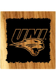 Northern Iowa Panthers Barrel Stave Bottle Opener Coaster