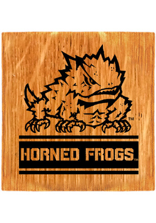 TCU Horned Frogs Four Pack Coaster