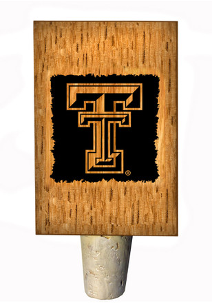 Texas Tech Red Raiders Bottle Stop Wine Accessory