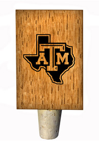 Texas A&M Aggies State Logo Bottle Stop Wine Accessory