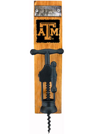 Texas A&M Aggies Logo Barrel Stave Wine Bottle Opener Wine Accessory