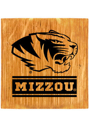 Missouri Tigers Four Pack Wordmark Coaster