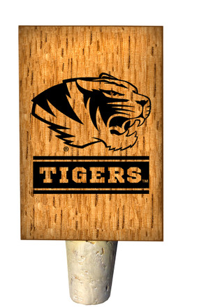 Missouri Tigers Bottle Stop Wine Accessory
