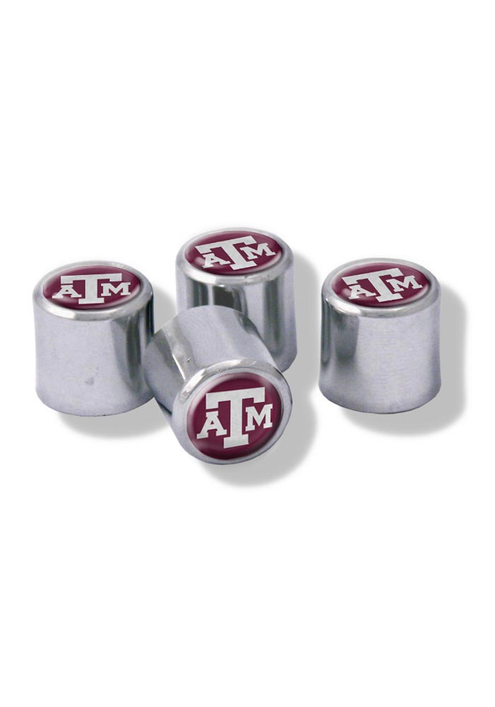 Texas A&M Aggies 4 Pack Auto Accessory Valve Stem Cap