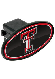 Texas Tech Red Raiders Plastic Oval Car Accessory Hitch Cover