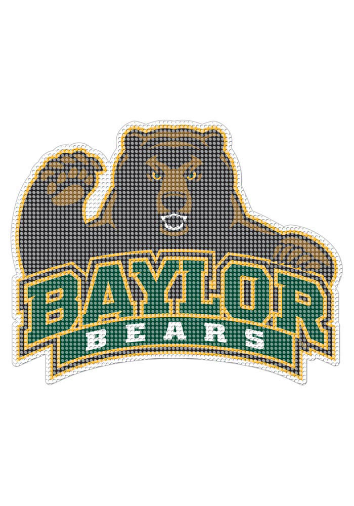 Baylor Bears 8x8 Perforated Decal - Image 1
