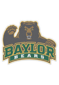 Baylor Bears 8x8 Perforated Auto Decal - Green